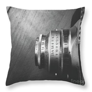 Throw Pillow featuring the photograph Numbers by Ivy Ho
