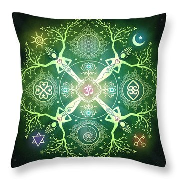 Om Throw Pillows