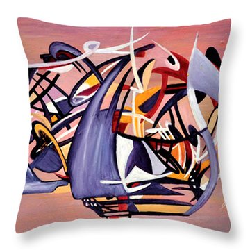 Nun Desiring The Artist Throw Pillow