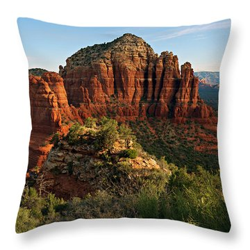 Nuns 06-033 Throw Pillow by Scott McAllister