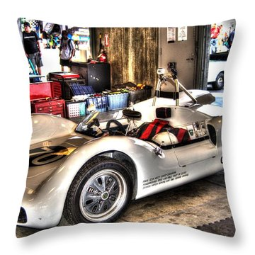 Nurburgring Throw Pillow