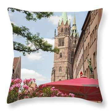 Nuremberg, Germany  Throw Pillow