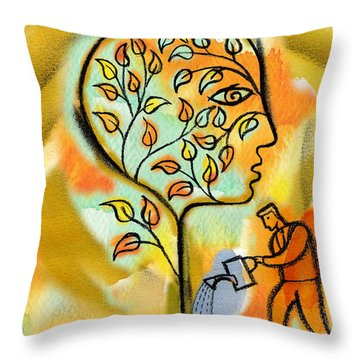 Nurturing And Caring Throw Pillow