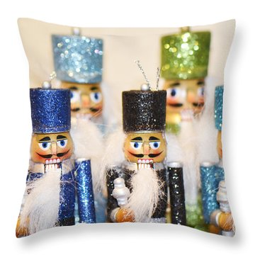 Nutcracker March Throw Pillow