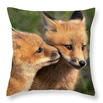Nuzzle Throw Pillow
