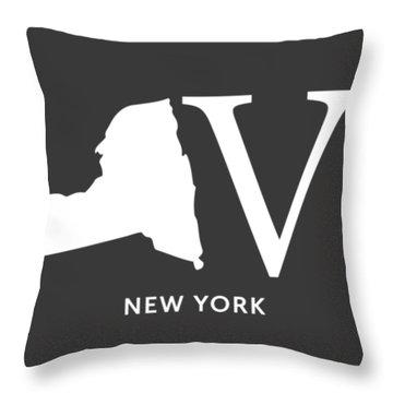 Ny Love Throw Pillow