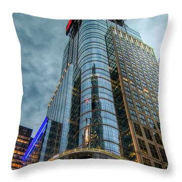 Ny Ny Throw Pillow