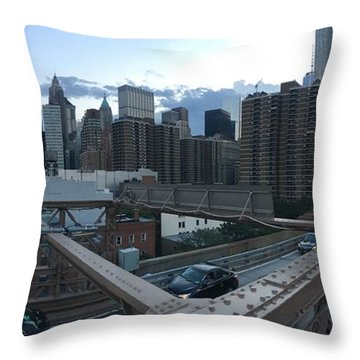 NYC Throw Pillow by Ashley Torres