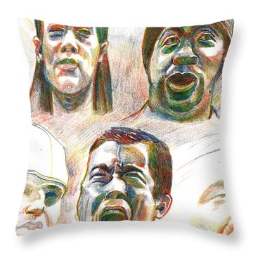 Nyc Expressions Throw Pillow