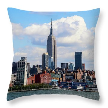 Nyc Westside Throw Pillow