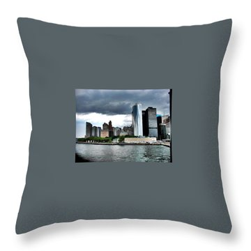 Nyc3 Throw Pillow