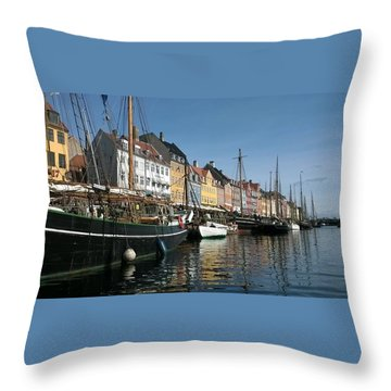 Nyhaven Throw Pillow