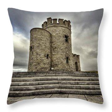 O Brien's Tower Throw Pillow