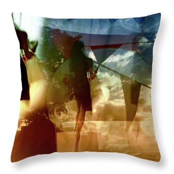O How Much More Doth Beauty Beauteous Seem Throw Pillow