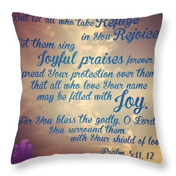 O Lord, Hear Me As I Pray;  Pay Throw Pillow