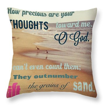 O Lord, You Have Examined My Heart  And Throw Pillow