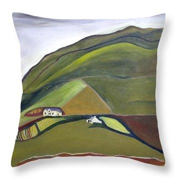 O Mountains That You Skip Throw Pillow