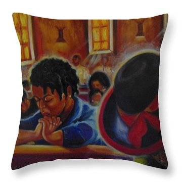 O My God Throw Pillow