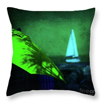 O Sole Mio Throw Pillow by Susanne Van Hulst