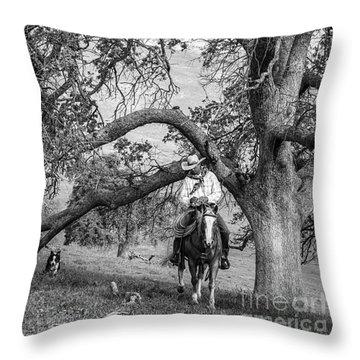 Oak Arches Throw Pillow