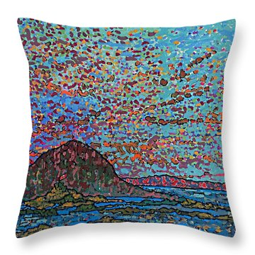 Oak Bay Nb June 2015 Throw Pillow