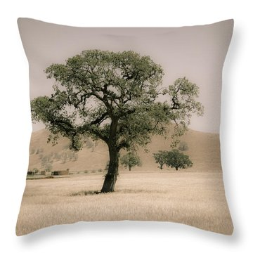 Oak Throw Pillow