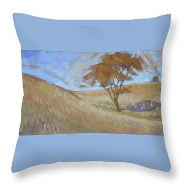 Oak Savanna, Autumn Throw Pillow