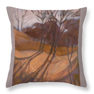 Oak Savanna Throw Pillow
