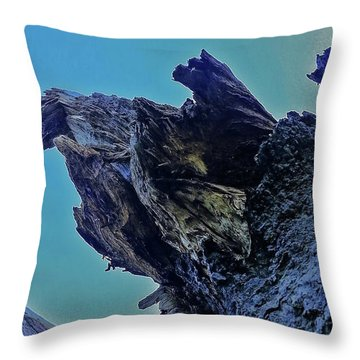 Oak Stump Throw Pillow
