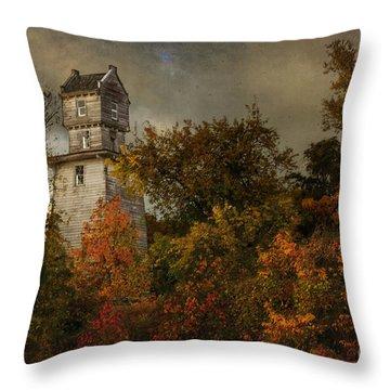 Oakhurst Water Tower Throw Pillow