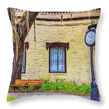 Oakland City Hall Throw Pillow