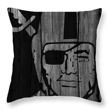 Raiders Throw Pillows