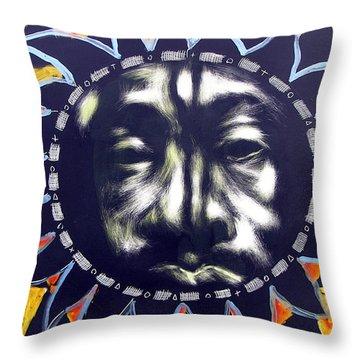 Oakland Sunshine Throw Pillow by Chester Elmore