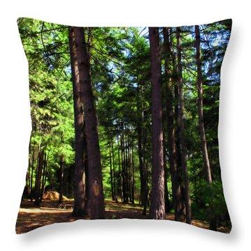 Oakrun Forest Throw Pillow