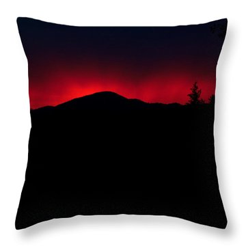 Oakrun Sunset 06 09 15 Throw Pillow by Joyce Dickens
