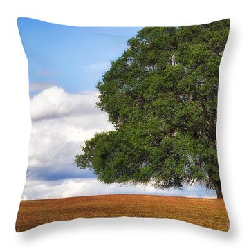 Oaktree Throw Pillow