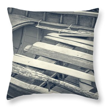 Oars Throw Pillow