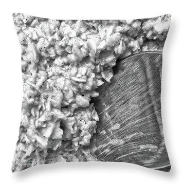 Oatmeal Throw Pillow