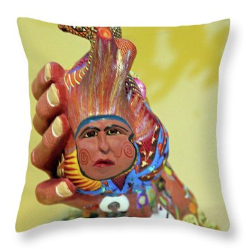 @oaxaca@mexico Throw Pillow