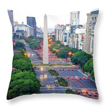 Obelisk 04 Throw Pillow by Bernardo Galmarini