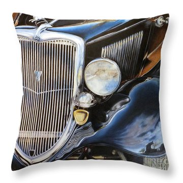 Object Of My Reflection Throw Pillow