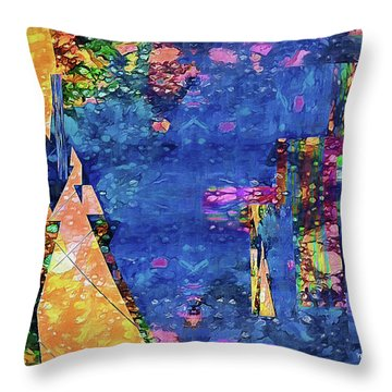 Objective Reality Throw Pillow