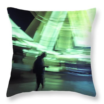 Throw Pillow featuring the photograph Oblivion by Alex Lapidus