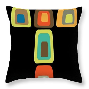 Oblong Cross Throw Pillow