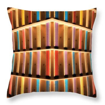 Throw Pillow featuring the photograph Oboe Inside by Beto Machado