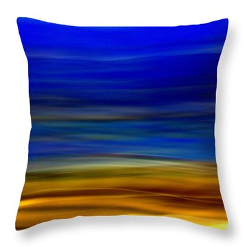Obscure Horizons Throw Pillow