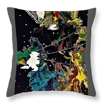 Obscurity Has A Great Many Elbows Throw Pillow