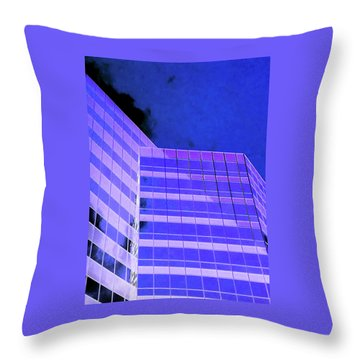 Throw Pillow featuring the photograph Obscurity In by Jamie Lynn