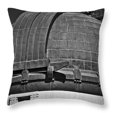 Throw Pillow featuring the photograph Observatory Roof by Kirt Tisdale