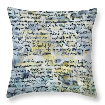 Obsessions Throw Pillow
